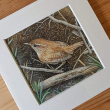 Load image into Gallery viewer, 'Wayside Wren' Giclée print