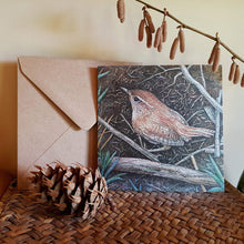 Load image into Gallery viewer, 'Wayside Wren' card