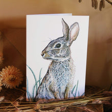 Load image into Gallery viewer, 'Rabbit' (detail) card
