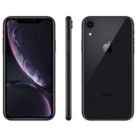 Apple iPhone XR, 64GB, Black - Fully Unlocked (Renewed)