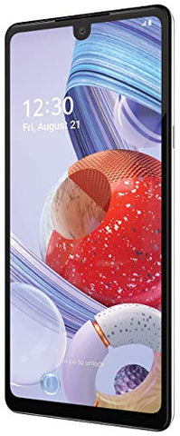 LG Stylo 6 Unlocked Smartphone – 4/64 GB – White (Made for US by LG) – Verizon, AT&T, T–Mobile, Sprint, Boost, Cricket, Metro (Universal Compatibility)