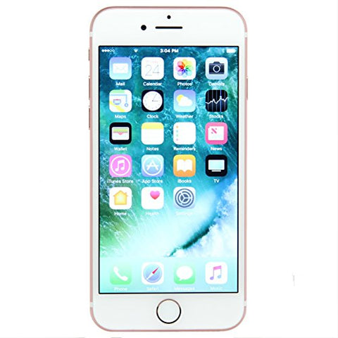 Apple iPhone 7, 32GB, Rose Gold - Fully Unlocked (Renewed)