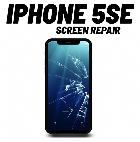 iPhone 5SE Cracked Screen Repair