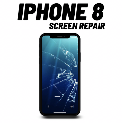 iPhone 8 Cracked Screen Repair