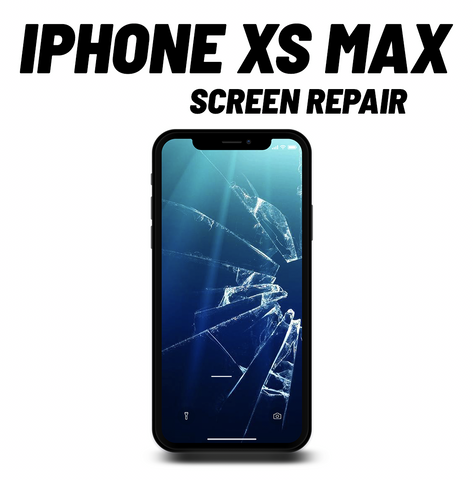 iPhone XS Max Cracked Screen Repair