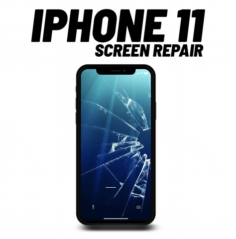 iPhone 11 Cracked Screen repair