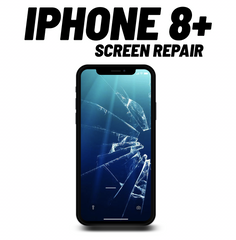 iPhone 8+ cracked Screen Repair
