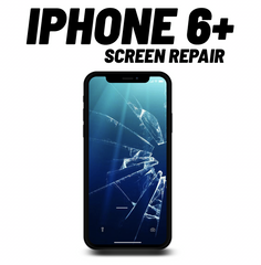 iPhone 6+ Cracked Screen Repair