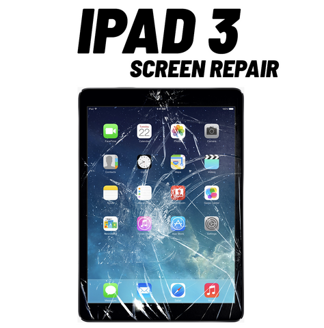iPad 3 Cracked Screen Repair