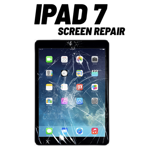 iPad 7 Cracked Screen Repair