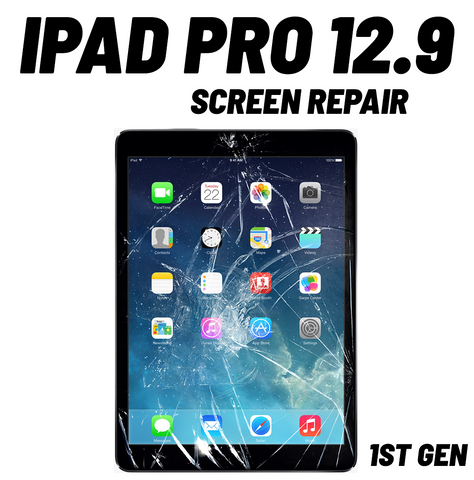 iPad Pro 12.9 1st Gen. Cracked Screen Repair