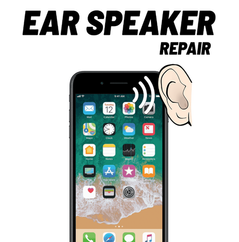 iPhone XR Ear Speaker Repair