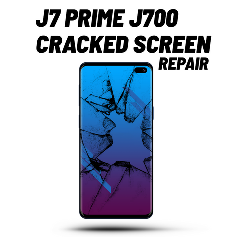 Galaxy J7 Cracked Screen Repair J700