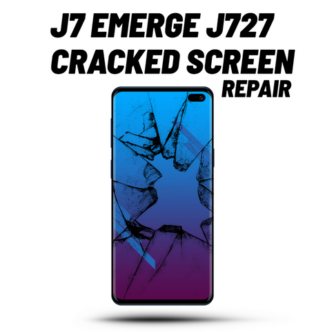 Galaxy J7 Emerge Cracked Screen Repair J727