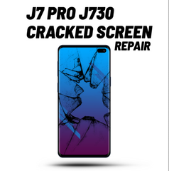Galaxy J7 Pro Cracked Screen Repair J730