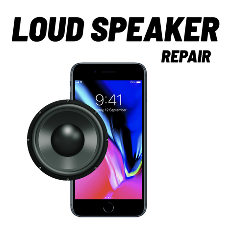 iPhone 8+ Loud Speaker Repair