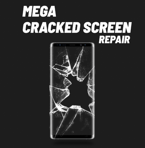 Galaxy Mega Cracked Screen Repair