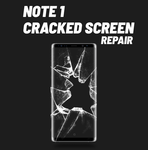 Galaxy Note 1 Cracked Screen Repair