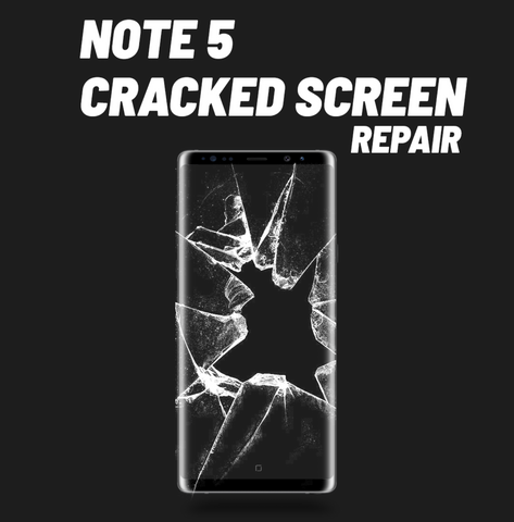 Galaxy Note 5 Cracked Screen Repair