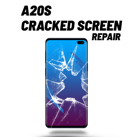 Samsung A20S Cracked Screen Repair