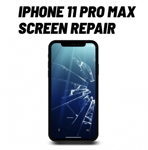 iPhone 11 Pro Max Cracked Screen Repair