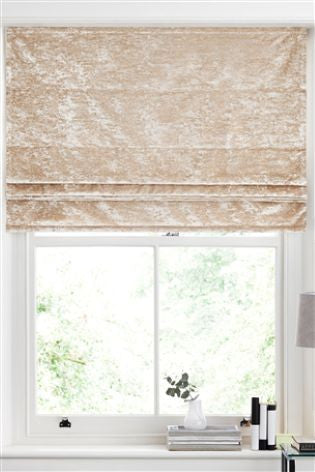 Next Crushed Velvet Blinds