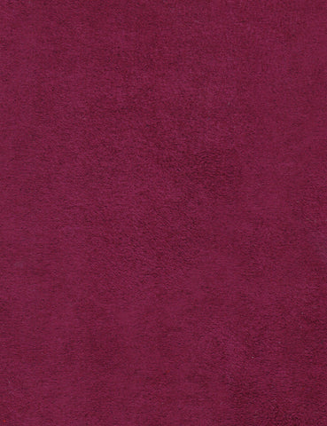 Faux Suede Aubergine Purple