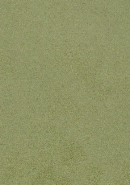 Faux Suede Olive Green Endure Fabrics