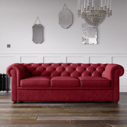 Chesterfield Malia Velvet Sofa Shiraz