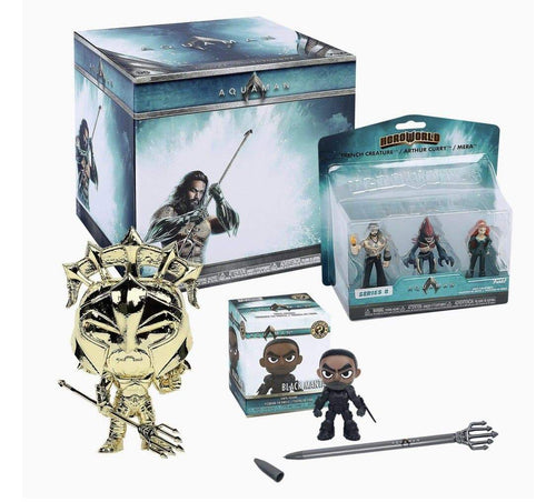 DC Aquaman Funko Collectors Box - Pop Figures