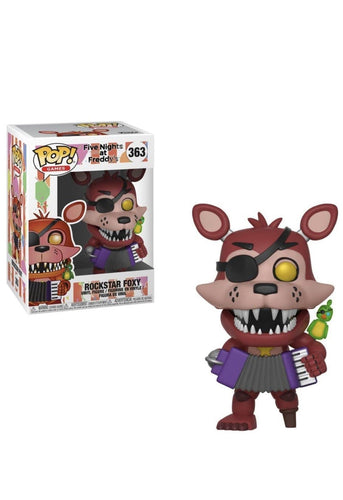 FIVE NIGHTS AT FREDDYS - Rockstar Foxy - Pop Figures