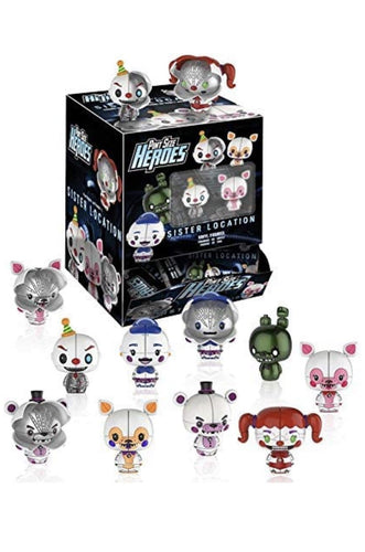 FIVE NIGHTS AT FREDDY's - Sister Location pit size heroes - Pop Figures