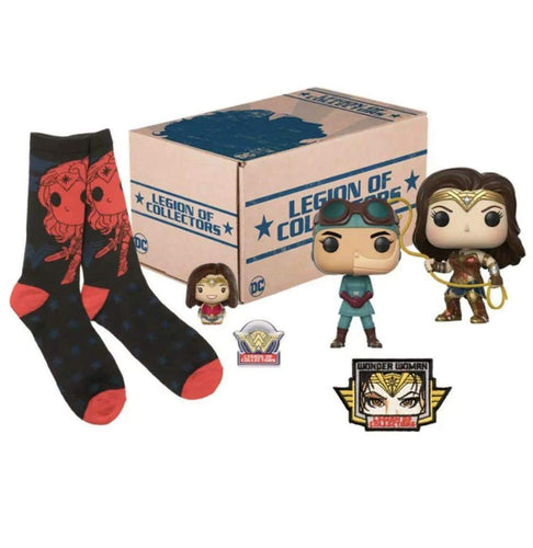 Lasso Wonder Woman Legion Of Collectors Box - Pop Figures