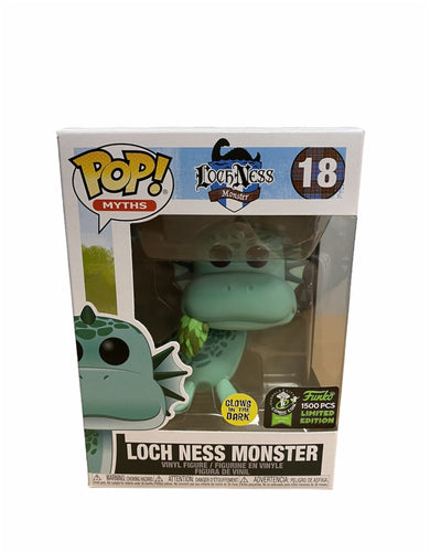 Loch Ness Monster #18 (Glows In The Dark) Pop! Myths. ECCC 2020 Official Convention Exclusive LE1500 Pcs. Condition 9.5/10 - Pop Figures