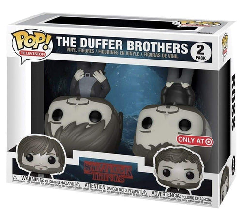 Stranger Things - The Duffer Brothers (Upside Down) - Pop Figures