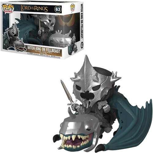 THE LORD OF THE RINGS - WITCH KING ON FELLBEAST POP! RIDES - Pop Figures