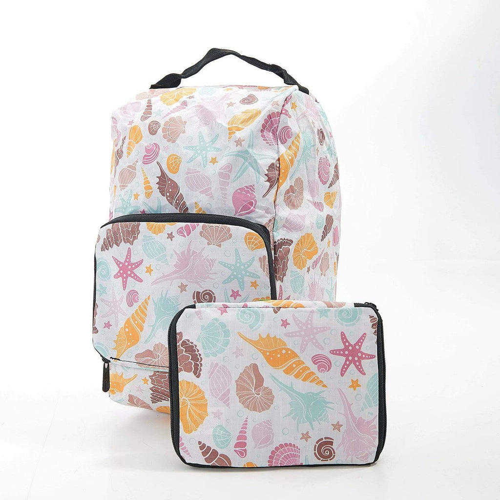 Eco Chic Eco Chic Sac à bottes pliable Coquillages