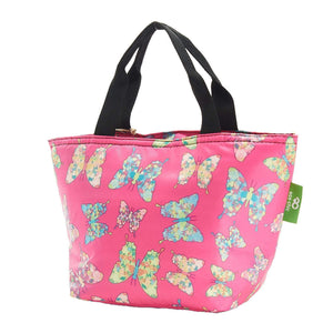 Eco Chic Eco Chic Sac à lunch pliable léger Butterfly