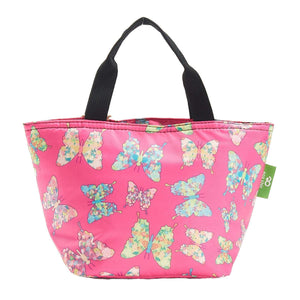 Eco Chic Fuchsia Eco Chic Sac à lunch pliable léger Butterfly