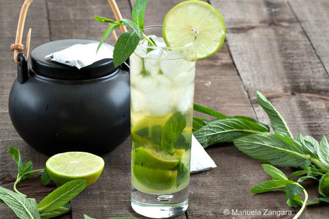 mojito iced tea cocktail al te verde