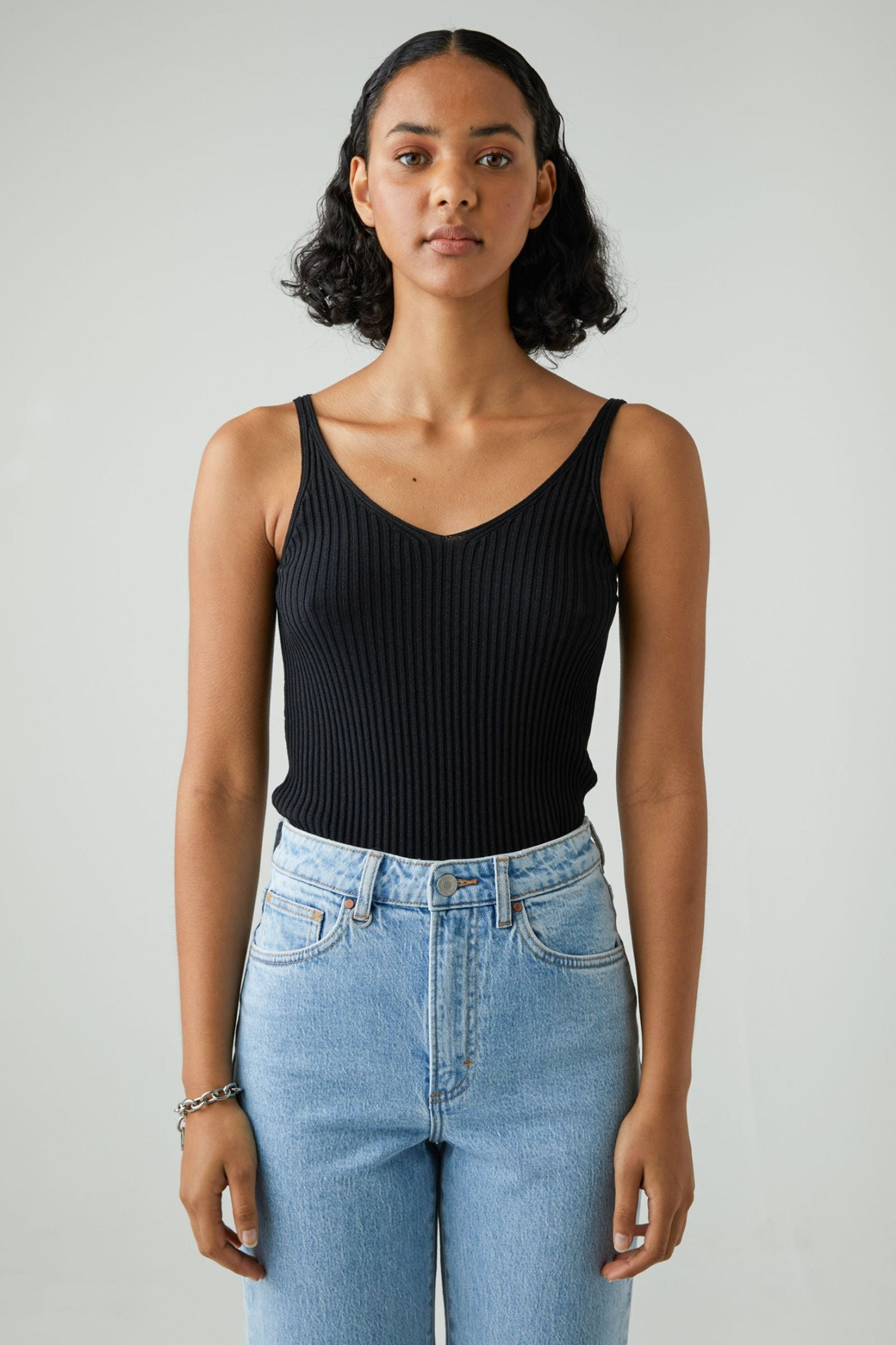 Moves Knit Top - Black