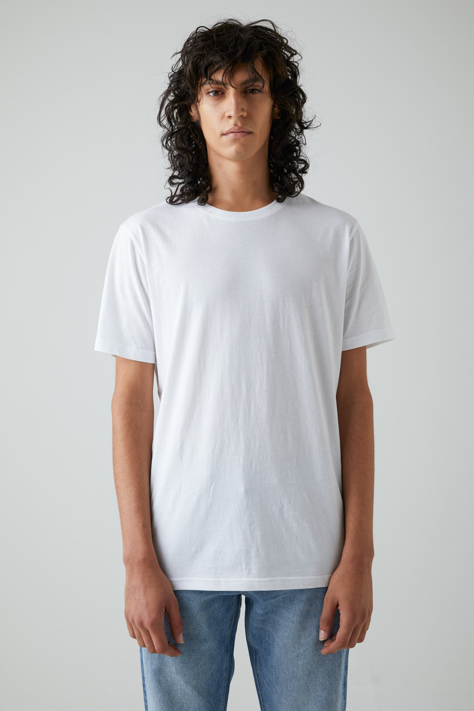 Bass Pima Tee - White