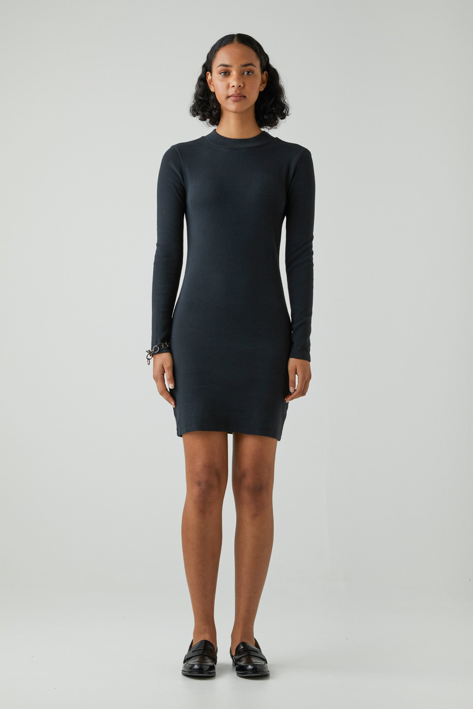 Jonesy Long Sleeve Dress - Black