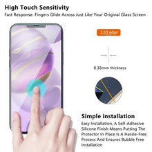 Load image into Gallery viewer, Tempered Glass Screen Protector for Apple iPhone 12 Pro Max - Clear