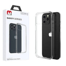 Load image into Gallery viewer, iPhone 12 / iPhone 12 Pro - MyBat Pro Savvy Series Case - Transparent Clear