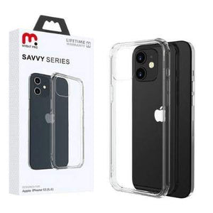 iPhone 12 mini - MyBat Pro Savvy Series Case - Transparent Clear