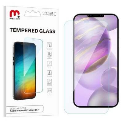 Tempered Glass Screen Protector for Apple iPhone 12 Pro Max - Clear