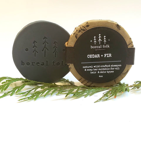 Boreal Folk - Cedar & Fir Soap