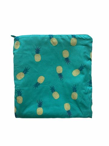 Colibri Canada - Pineapple Reusable Snack Bag (Large)