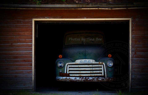 Photos by Tina Bee - Vintage GMC Truck